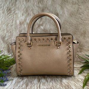 Michael Kors Jewel Selma Two- Way Satchel Bag